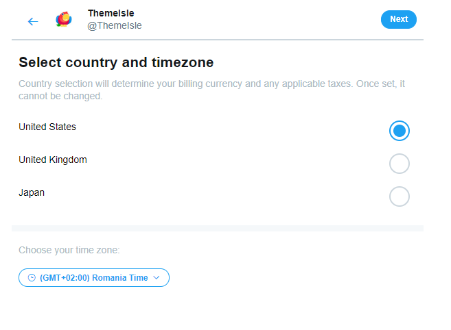 Social Media Case Study - TPM Country Targeting