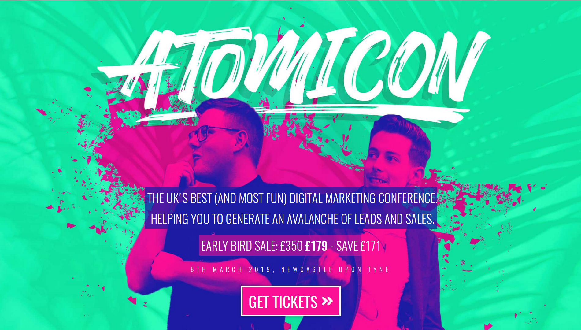 Atomicon is a playful social media conference in Newcastle, UK